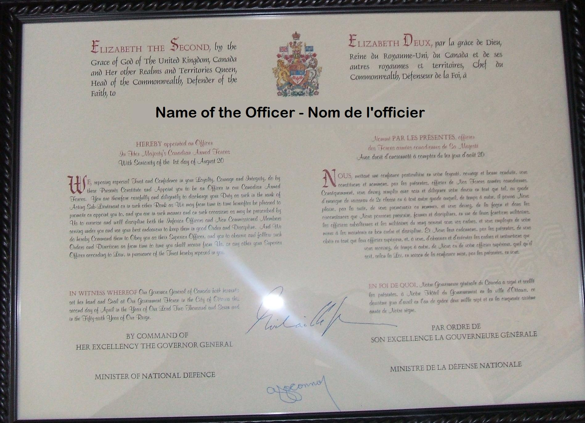 canadian travel document to canada