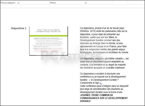 convertir document word en powerpoint gratuit
