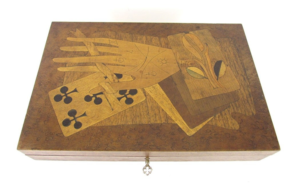 antique brass inlaid ebony document boxes