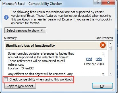 open previous versions of an excel document
