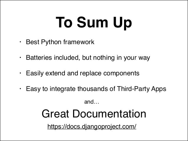 django 1.7 documentation