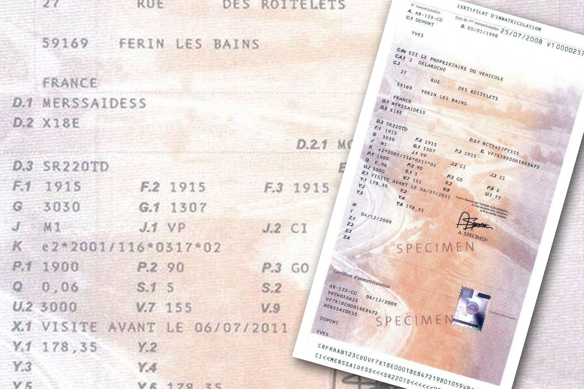 document a fournir pour carte grise moto 125