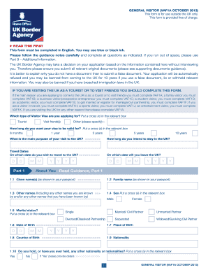 document checklist for uk visitor visa canada