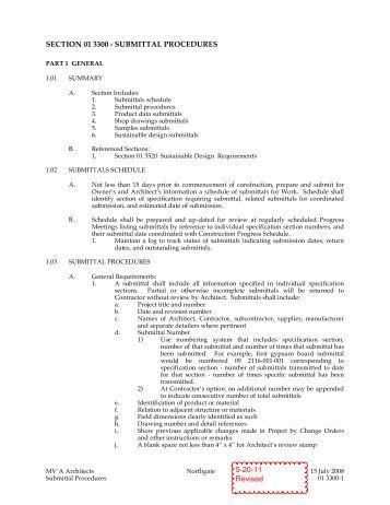 document control procedure in construction