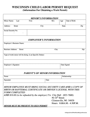 document number canada work permit