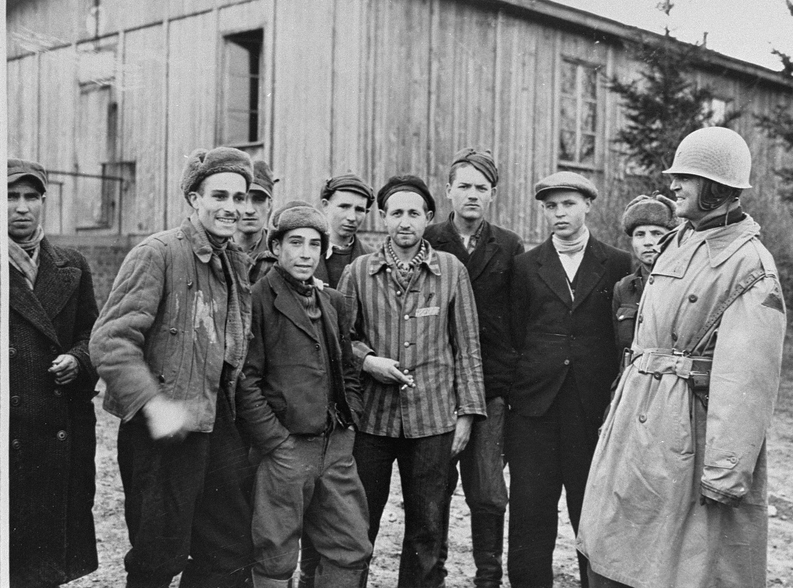 why did germans document horrors committed in concentration camps