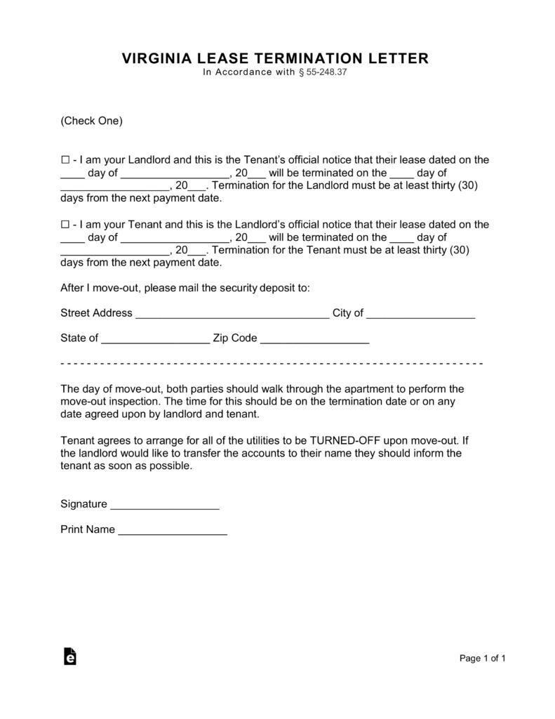 separation agreement ontario word document