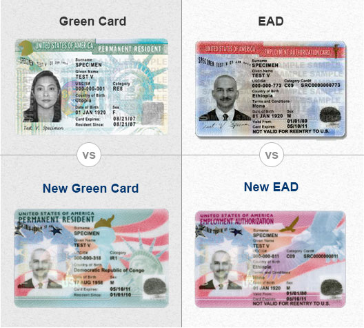 facilitation document vs permanent resident card