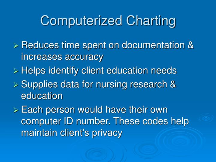 focus charting nursing documentation