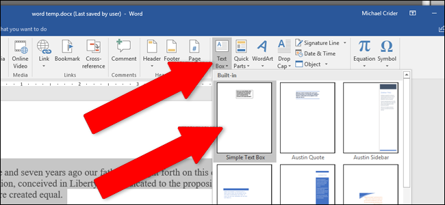 how to add a page to a word document