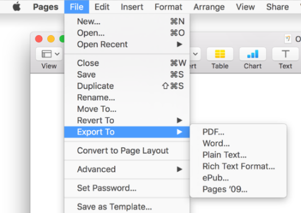 how to convert pdf file to word document on mac
