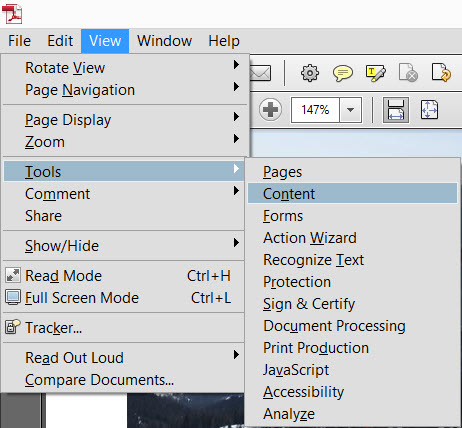 how to edit a pdf document in adobe acrobat pro