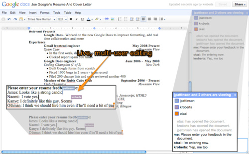 how to edit google document on google docs