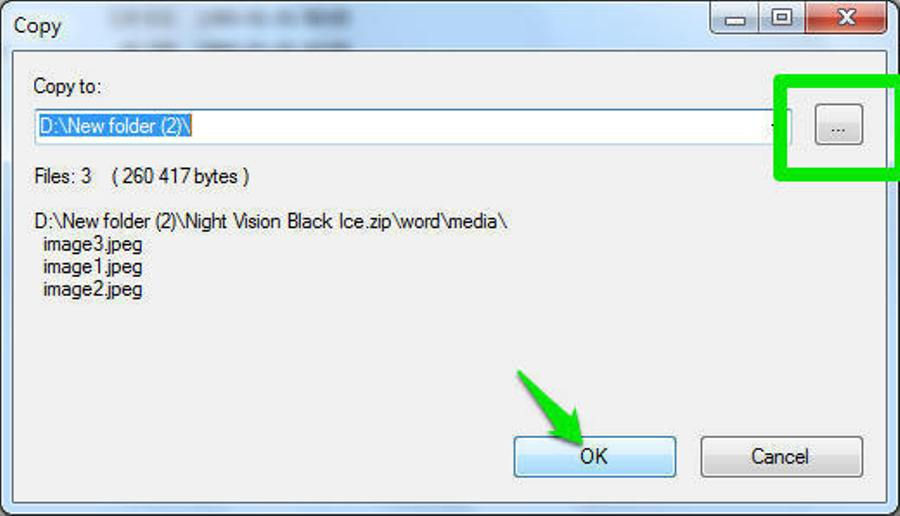 how to extract an image from a word document