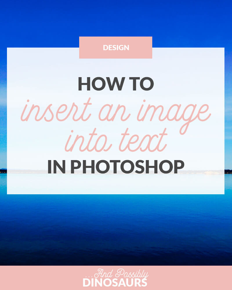 how to insert a word document into photoshop