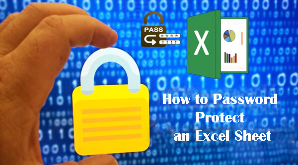how to protect a document in excel 2018