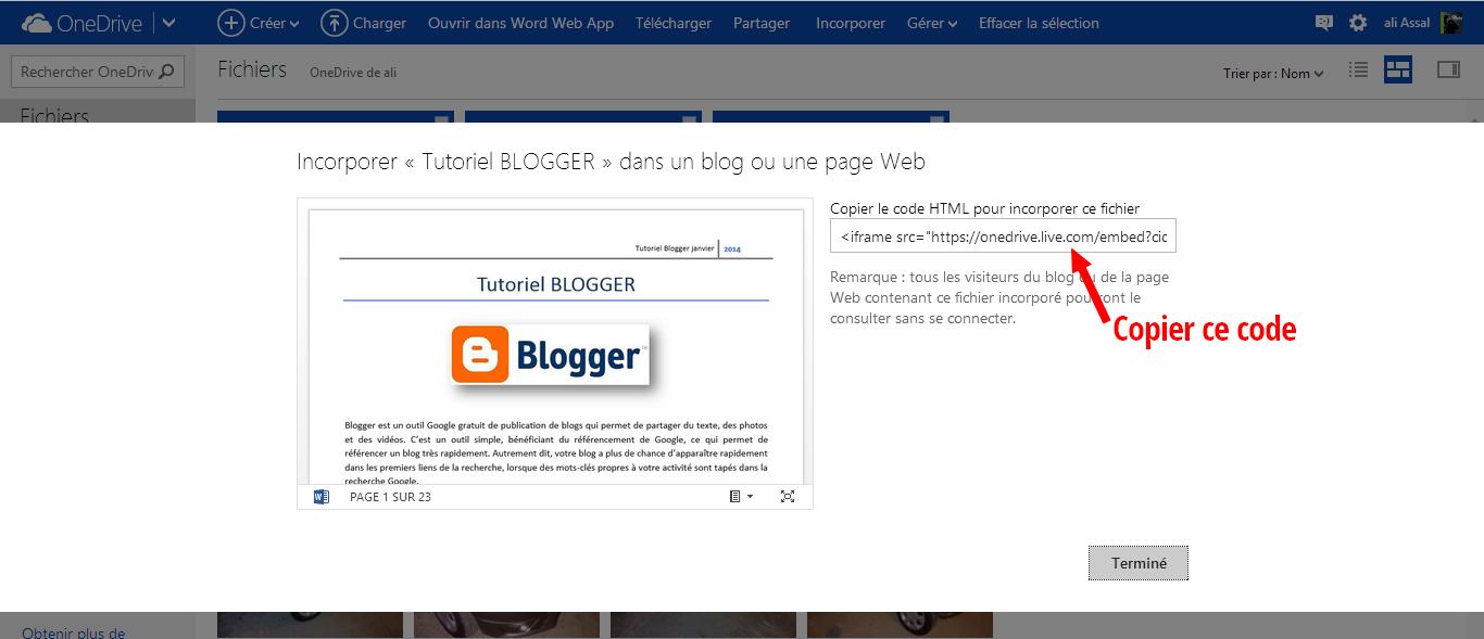integrer document pdf dans word