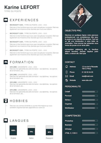 joli design pour document word