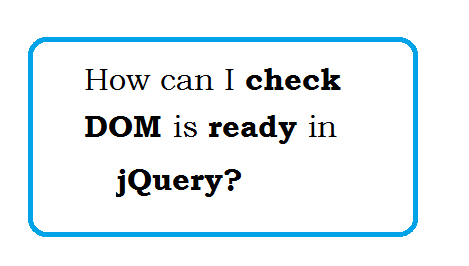jquery not using document ready