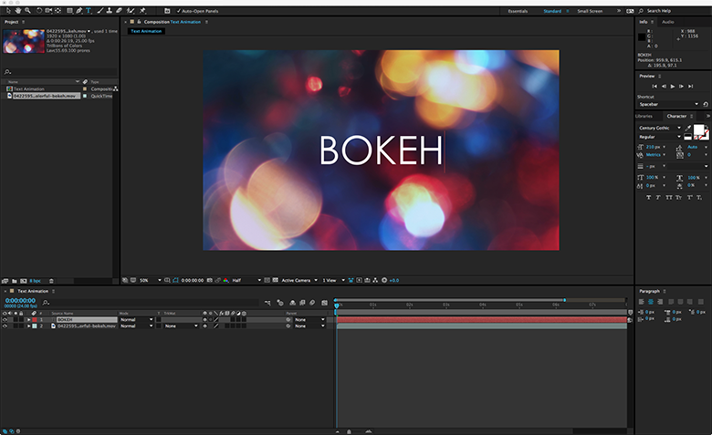 layer size document size after effects illustrator composition