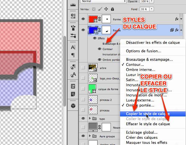 mettre du bleed document photoshop