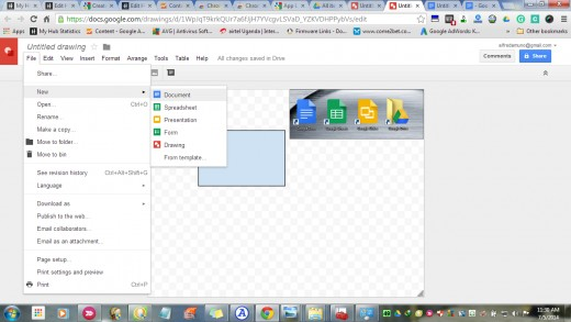 open word document on drive in google docs