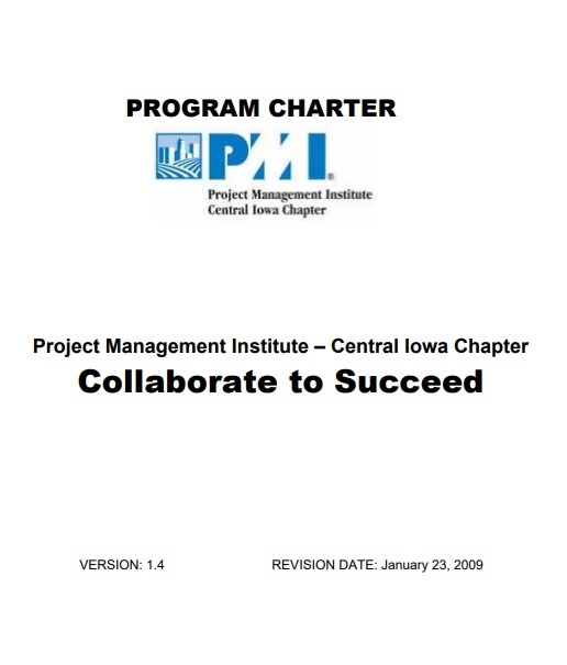 pmstudy facebook a project charter is a document