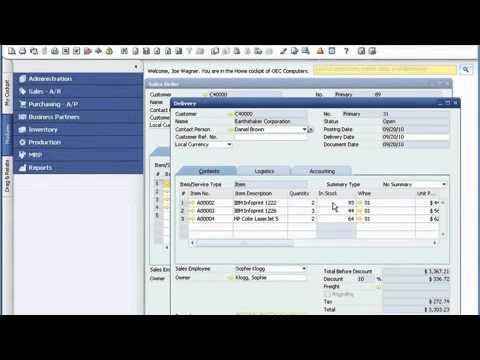 sap easy document management demo