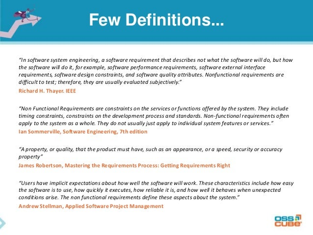 software engineering requirements document template