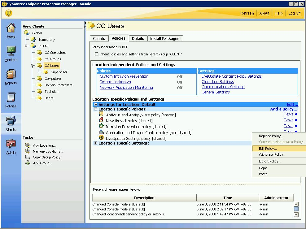 symantec endpoint protection documentation