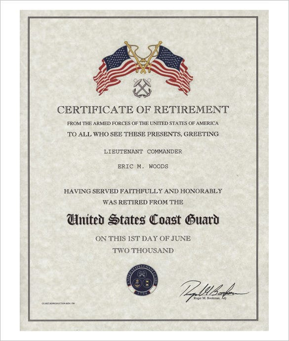 uscg certification of documentation