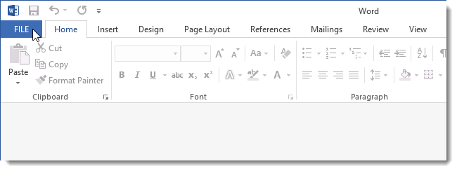 what is an open text document in word