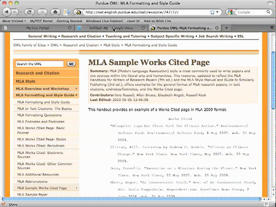 what is apa and mla style of documentation