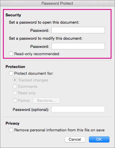 word didn t save my document mac