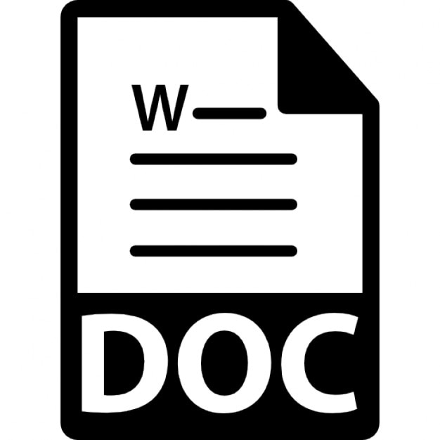 word document showing formatting symbols